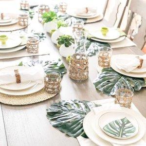 低至3折 餐具16件套$89.96Mikasa 骨瓷餐具、酒杯套装 马克杯$15 水晶花瓶$24