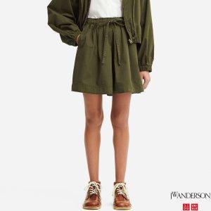 晒货同款 JW Anderson合作款 女士短裤