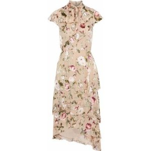 d872809db8 THE OUTNET offers Alice + Olivia Clothing up to 60% off. Free Shipping.  Alice + OliviaLavenia pussy-bow floral-print fil coupe chiffon dress
