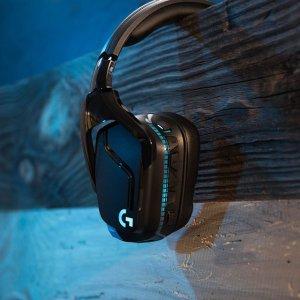$129.99(原价$199.99)Logitech G935 7.1环绕声 无线RGB游戏耳机