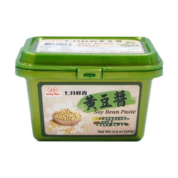 绿野 七月鲜香 黄豆酱 500g