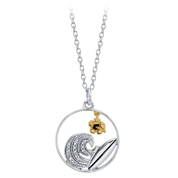 Lilo & Stitch 钻石镶嵌 项链