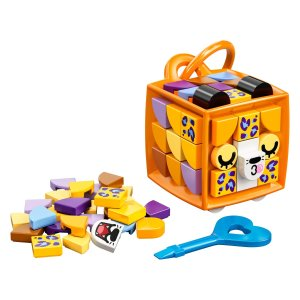 Lego老虎造型 书包挂件 41929   DOTS系列