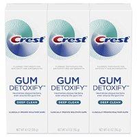Crest 深层清洁牙膏 3支