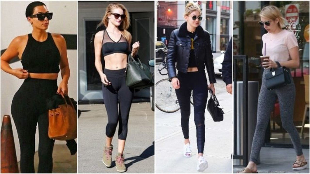 为什么几百块的健身服,网红们可以穿出街?