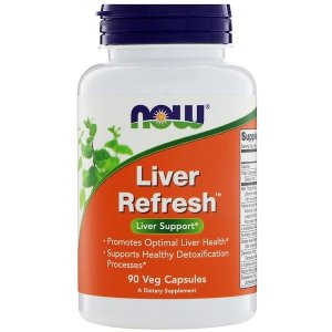 Now Foods (NOW®) Now Foods, Liver Refresh, 90 Veg Capsules
