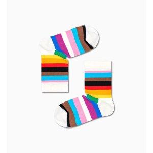 Happy Socks彩虹条纹袜