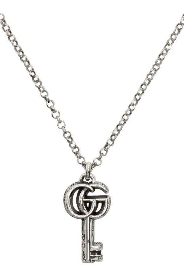 GG钥匙项链