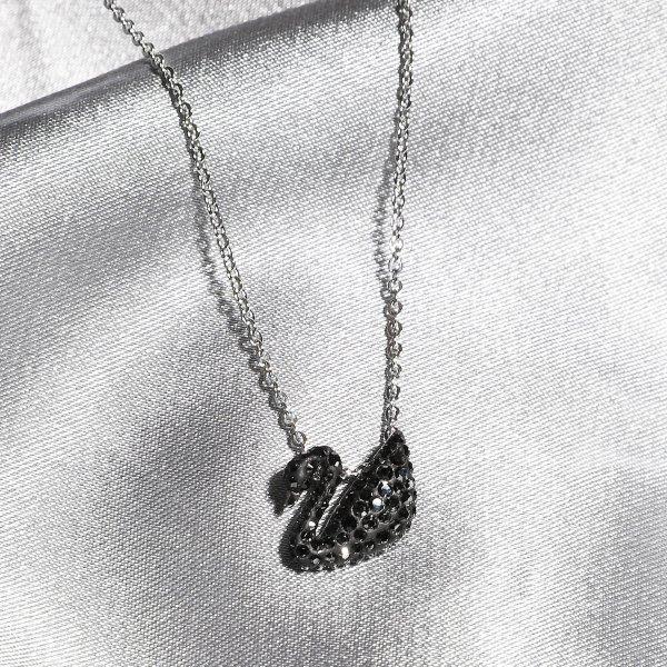 小号黑天鹅项链
