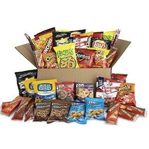 $12.99 一袋只要$0.32白菜价:Ultimate Snack 综合零食大礼包 40包