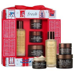 $119(价值$174)Fresh 圣诞限定红茶护肤套装上架