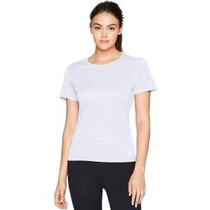 $5.74白菜价:adidas 女款休闲运动T恤 多色可选