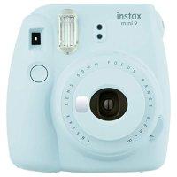 Fujifilm - Instax Mini 9  拍立得 蒂芙尼蓝色(含10张相纸)