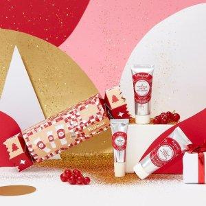 限时7折+送面霜 €11.8收封面3件套Polaar 法国高科技护肤 多款圣诞限定礼盒 极地植物强效护肌