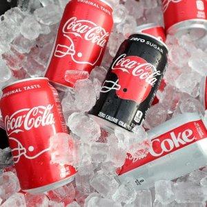 €9.9收24罐 夏日宅家必备Prime Day 狂欢价:Coca-Cola 可口可乐 330毫升x24罐 快乐肥宅水