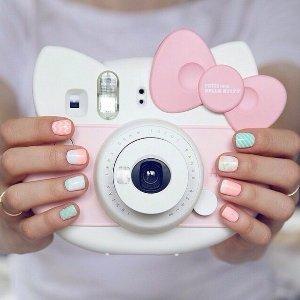 直邮到手价$107.5FUJIFILM 富士拍立得 mini Hello Kitty 纪念款相机 限量版套装