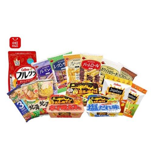 【吃货福利】超人气日本零食大礼包