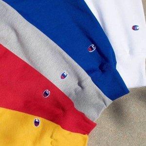 低至8折 包邮Champion官网 男女卫衣,冲锋衣,背包配饰等上新 $10起