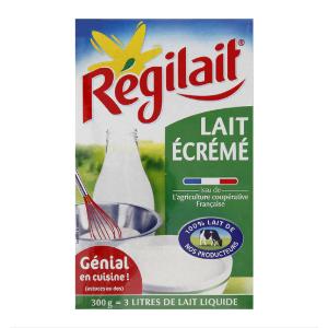 脱脂奶粉 300g=3L