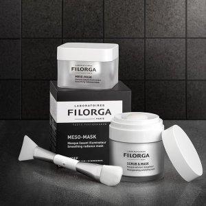 无门槛7.5折 $52收雕塑眼霜Filorga 法国顶级药妆 收十全大补面膜、无暇护肤套装