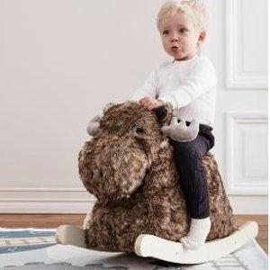 Kids Concept 毛绒摇摇马,打造宝宝的梦幻乐园