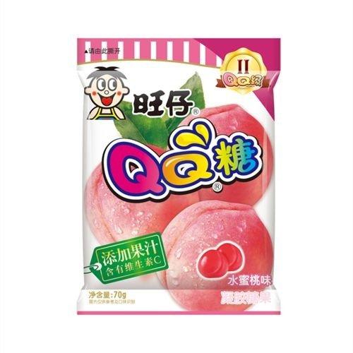 旺旺QQ糖 水蜜桃味70g