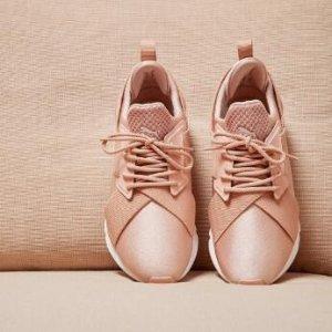额外8折+满50享9折PUMA潮鞋折上折热卖 收Cara同款干枯玫瑰色Muse