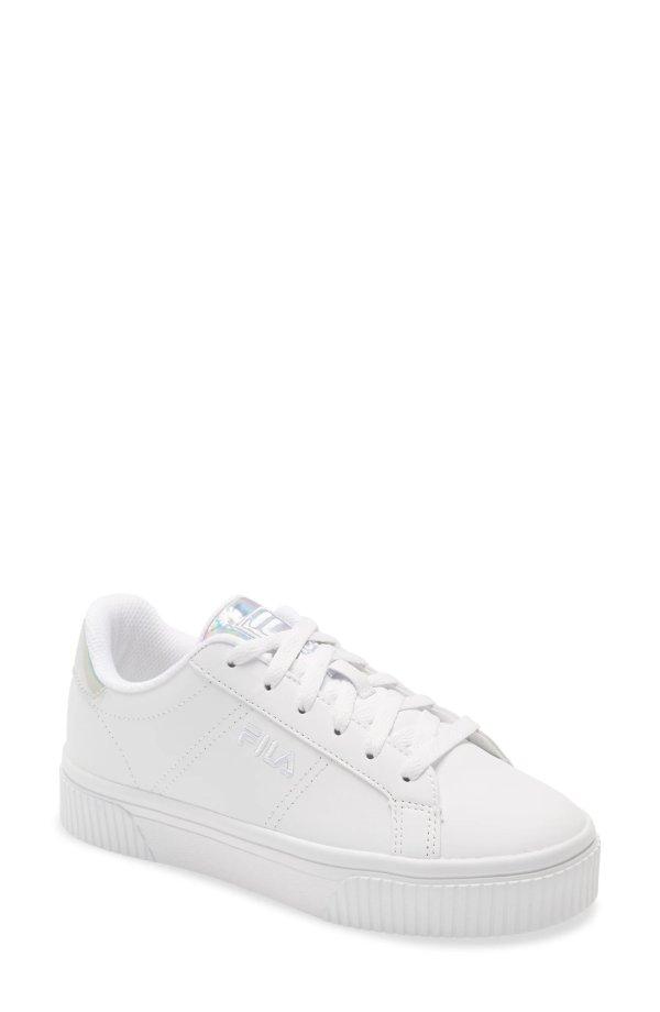 松糕小白鞋