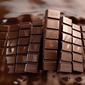 一条低至$0.49+任意单包邮Godiva 经典款条装迷你巧克力上新热卖,收杏仁粒蜂蜜口味