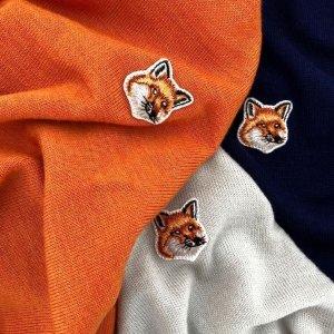 定价优势+免邮Maison Kitsuné 法式浪漫与慵懒 $80收多款短袖 $235收卫衣