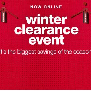 As low as $3T.J.Maxx Winter Clearance Event