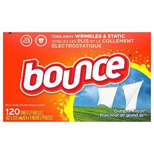 $3.7Bounce 衣物清香烘干纸, 120 Count