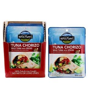 $14.35Wild Planet Tuna Chorizo Wild Tuna with Spices, 1 Pouch, (Pack Of 12)