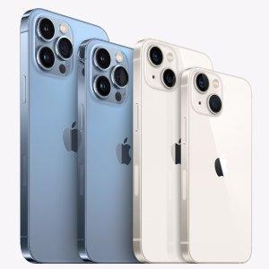 iPhone 13 Pro蓝色美翻天2021苹果发布会  iPhone13摄影力飙升 周五预定 24日开售