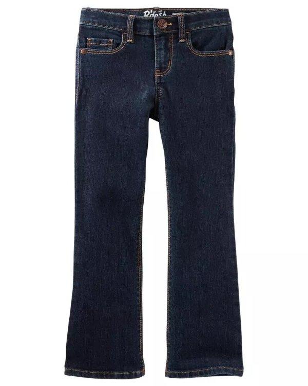 女童、大童牛仔裤