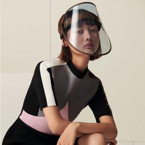 预计10月30日正式发售LV Shield 全新经典印花透明面罩 不仅防病毒还防晒哦