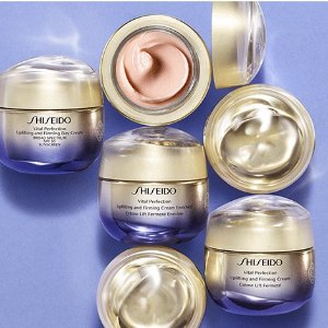 Shiseido.com ExclusiveNew Arrivals: Vital Perfection Uplifting and Firming Collection