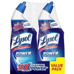 $3.33Lysol Power 马桶清洁剂 2瓶组 10倍清洁能力