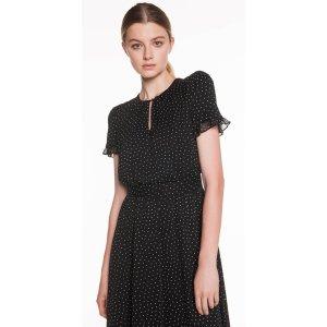 CUE黑色连衣裙