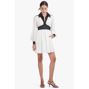DOLLY DRESS | WHITE BLACK
