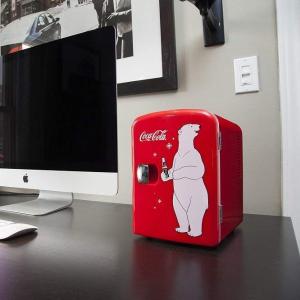 $41.19(原价$69.95)Koolatron KWC-4 red Portable Mini Cooler
