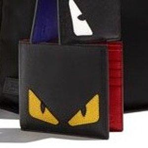 8折+定价优势上新:Fendi 时尚单品专场,小怪兽卡包$291