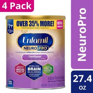 NeuroPro 适度水解无乳糖配方 27.4 oz 加量装*4罐