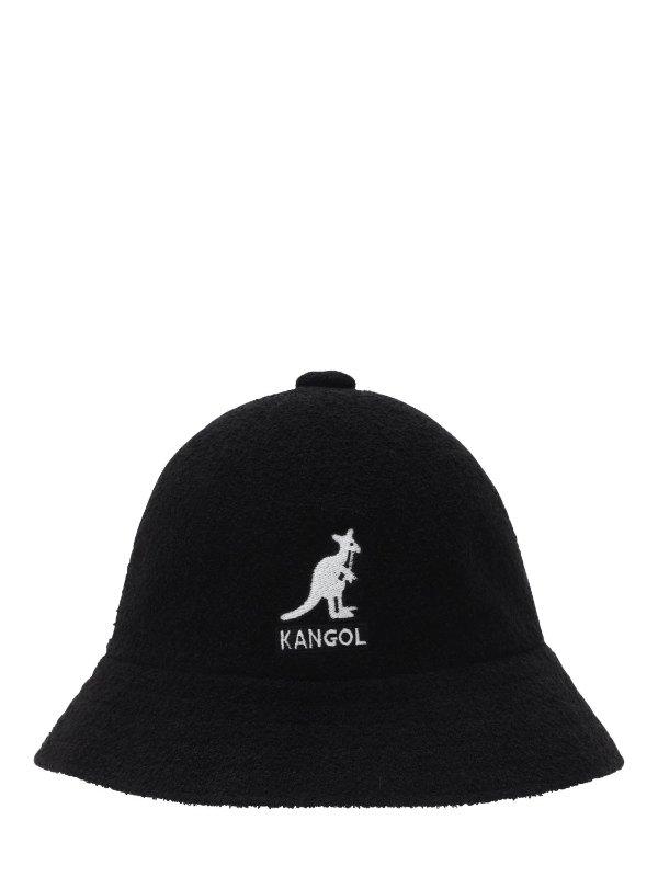 经典黑色渔夫帽