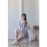 Lavender A-Line 连衣裙