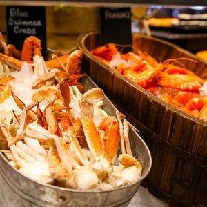$99 (原价$178)位于悉尼速秒:Sheraton喜来登 2人豪华海鲜自助餐
