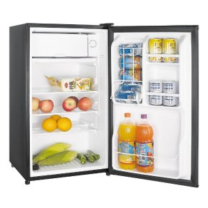 $1283.5 cu. ft. Mini Refrigerator in Stainless Look, ENERGY STAR