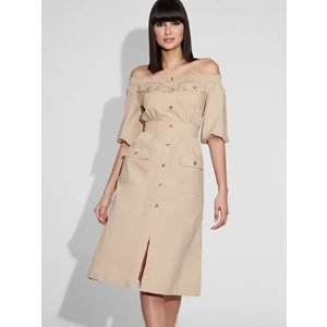 New York & CompanyOff-The-Shoulder Dress - Gabrielle Union Collection - New York & Company