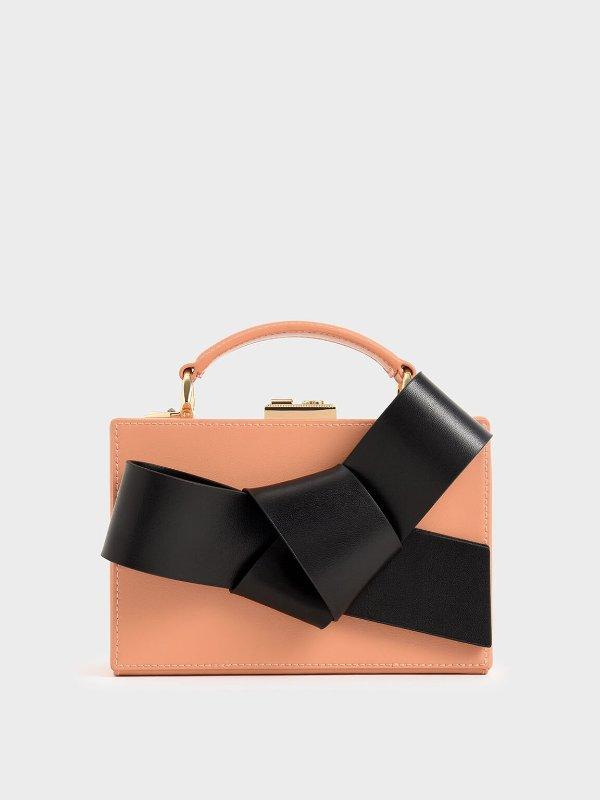 蝴蝶结盒子包