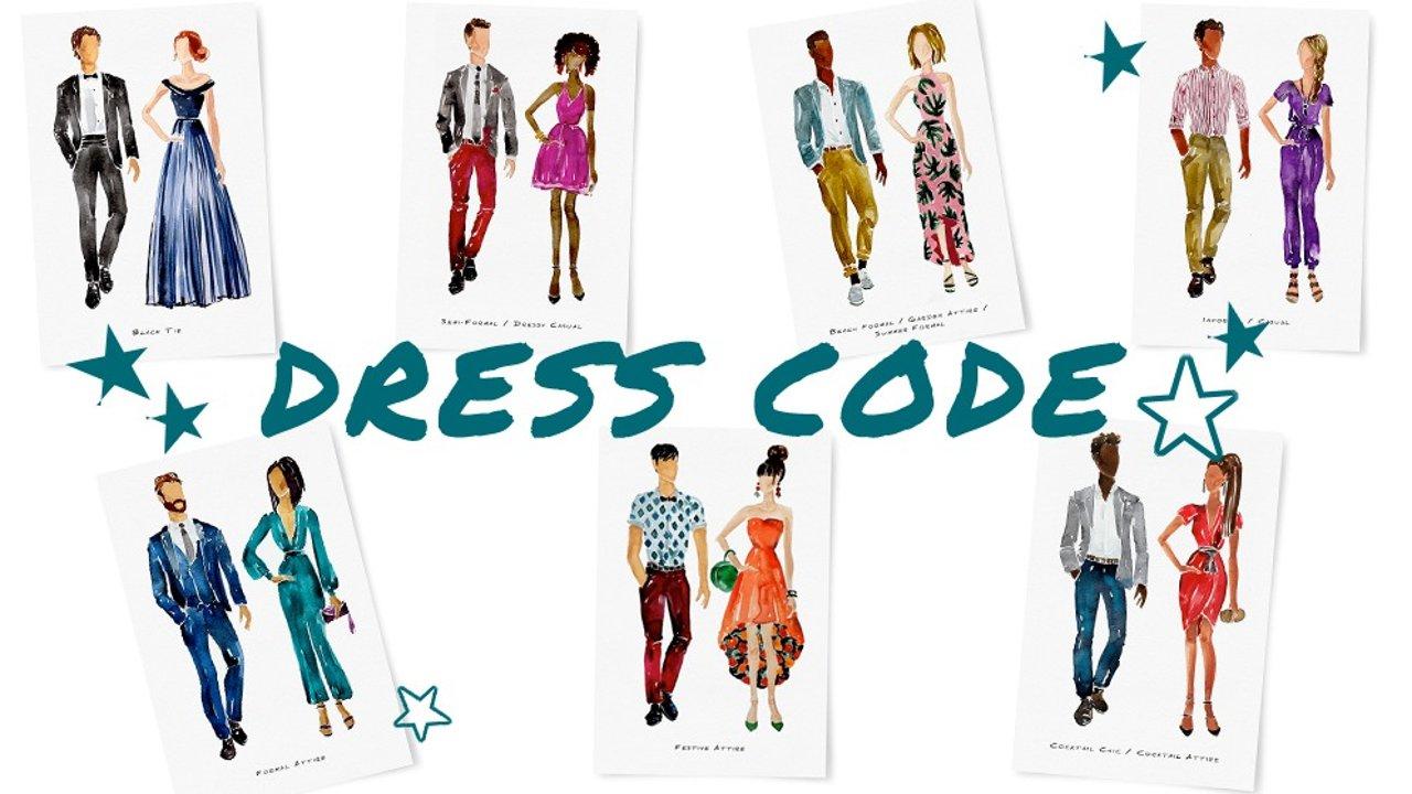 Dress Code大科普,晚宴会议再也不怕穿错衣服啦!